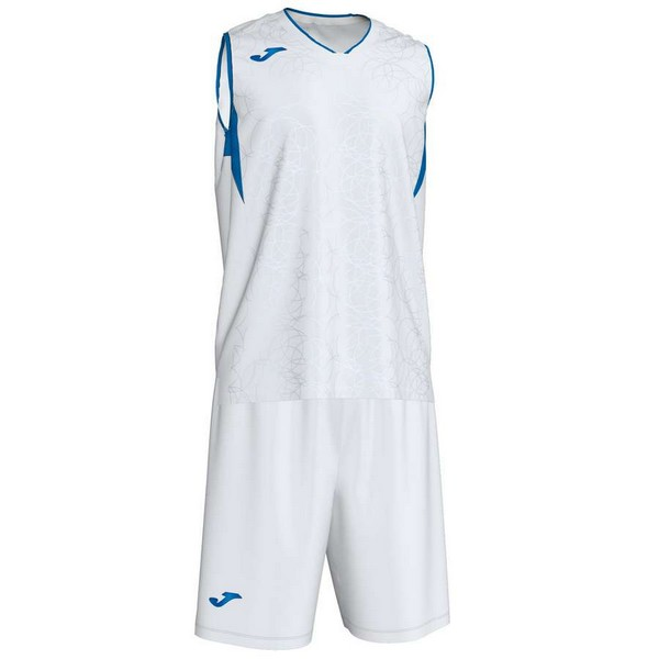 JOMA SPORT CAMISETA CAMPUS SET BASKET WHITE-ROYAL