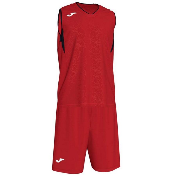 JOMA SPORT CAMISETA CAMPUS SET BASKET RED-BLACK