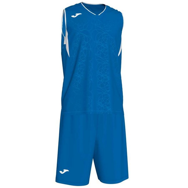 JOMA SPORT CAMISETA CAMPUS SET BASKET ROYAL-WHITE