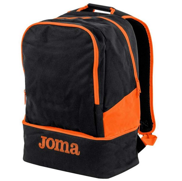 MOCHILA ESTADIO III BLACK-ORANGE