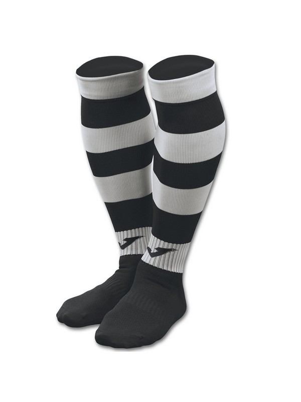 FOOTBALL SOCKS ZEBRA II BLACK-WHITE
