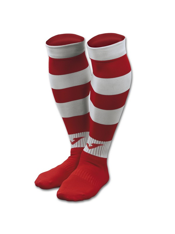 FOOTBALL SOCKS ZEBRA II RED-WHITE