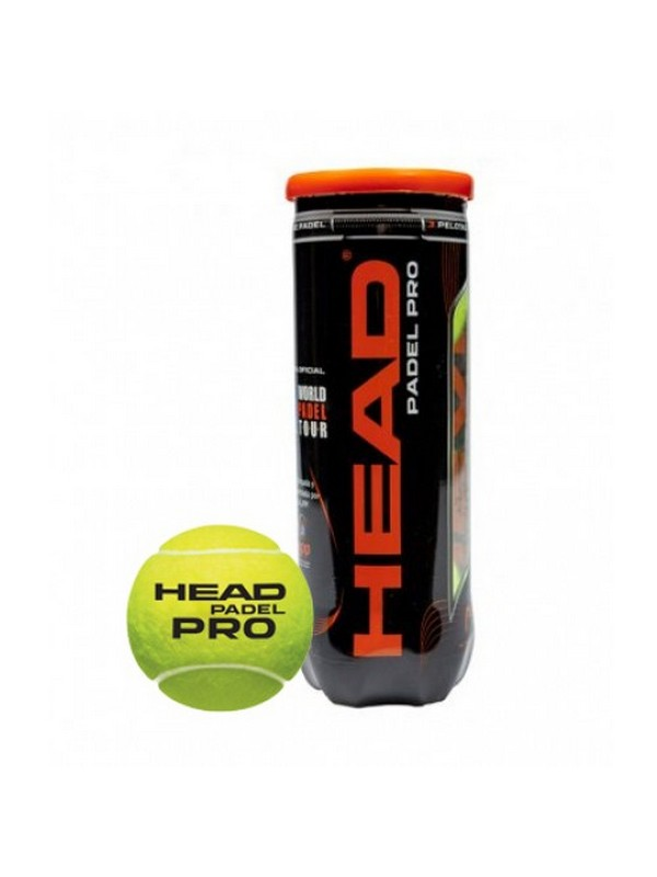 HEAD PELOTA PADEL PRO SIN COLOR