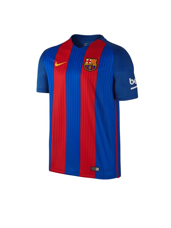 NIKE CAMISETA M/C FCB M SS HM STADIUM JSY SPORT ROYAL/GYM RED/UNIVERSITY