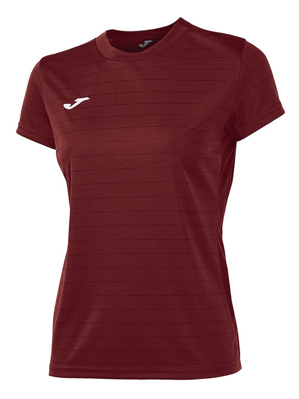 JOMA T-SHIRT CAMPUS II S.S WOMEN BURDEOS