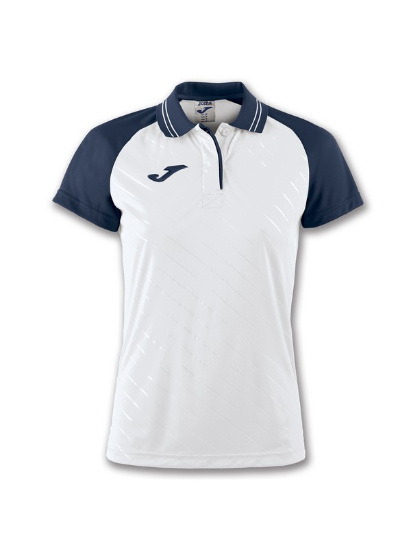 JOMA POLO TORNEO II S/S WOMAN WHITE-NAVY