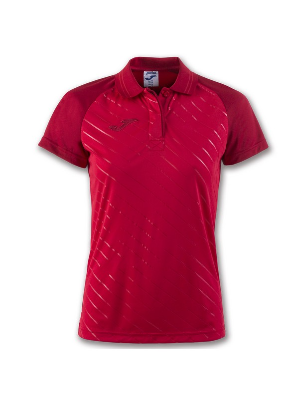 JOMA POLO TORNEO II S/S WOMAN RED