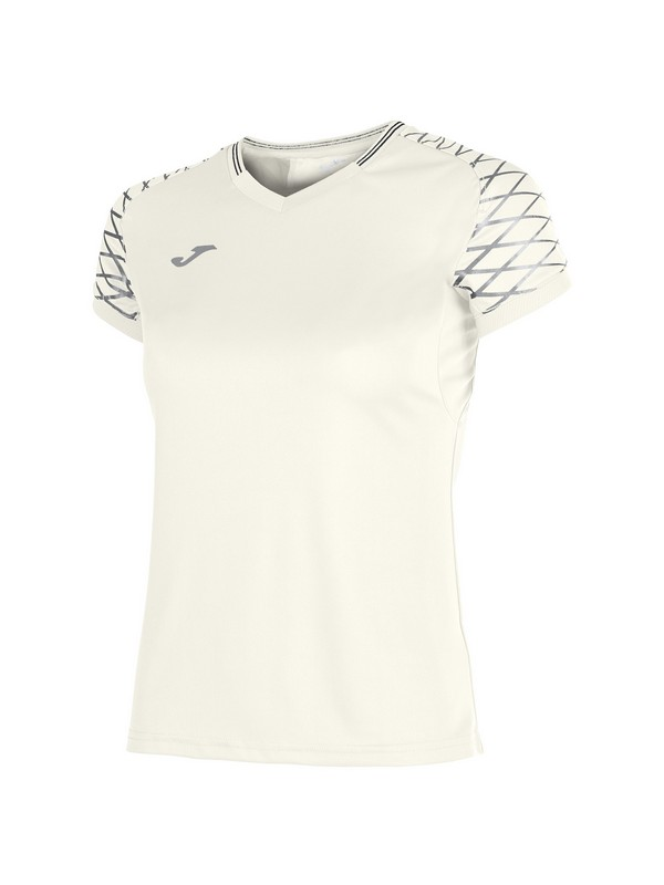 JOMA T-SHIRT OPEN FLASH S/S WOMAN WHITE