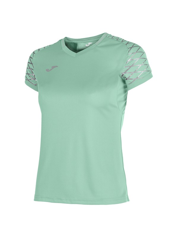 JOMA T-SHIRT OPEN FLASH S/S WOMAN GREEN