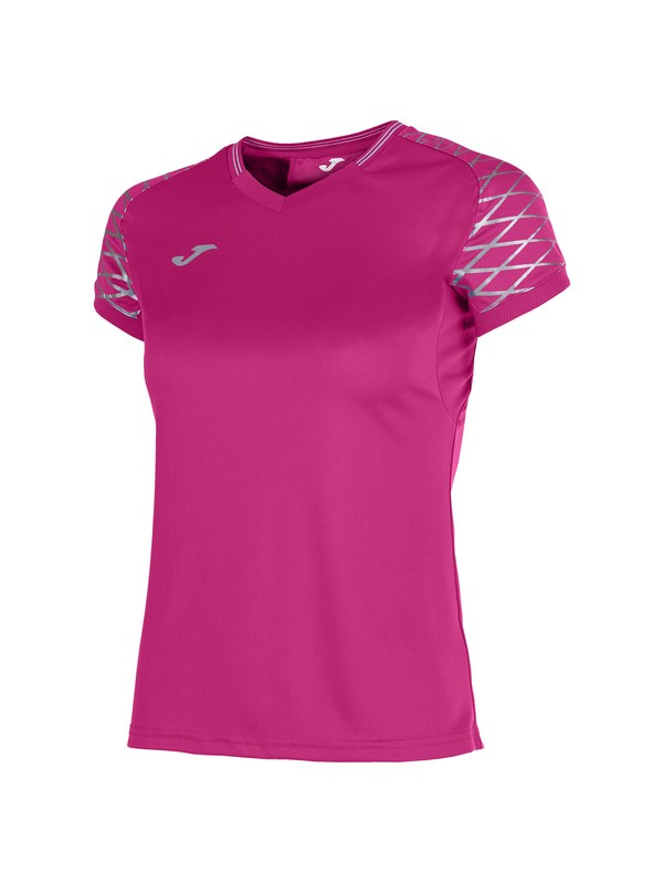 JOMA T-SHIRT OPEN FLASH S/S WOMAN PINK