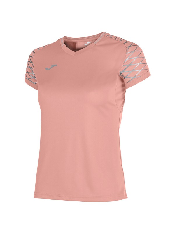 JOMA T-SHIRT OPEN FLASH S/S WOMAN LIGHT PINK