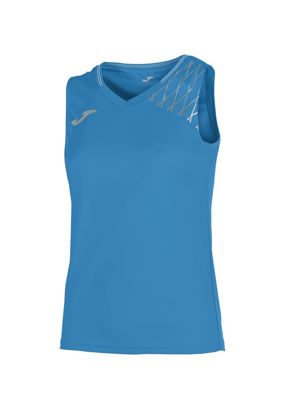 JOMA T-SHIRT OPEN FLASH SLEEVELESS WOMAN ROYAL
