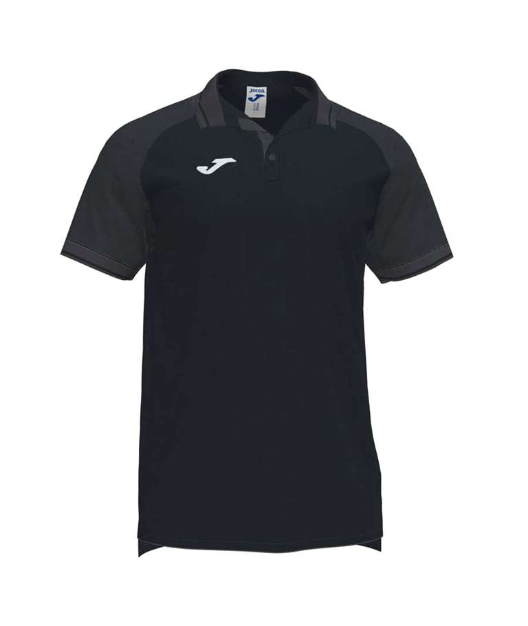 JOMA POLO ESSENTIAL II BLACK / ANTHRACITE