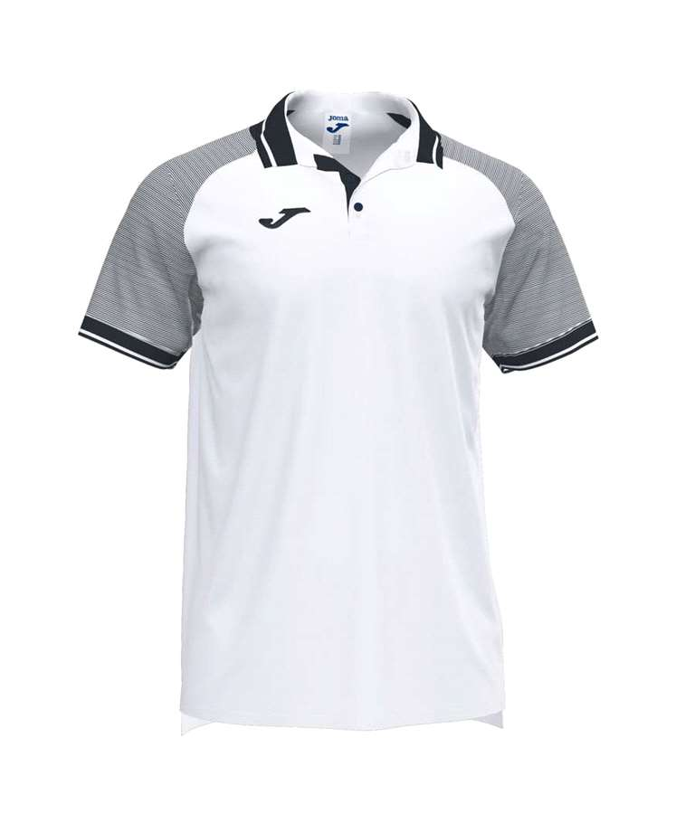 JOMA POLO ESSENTIAL II WHITE / BLACK