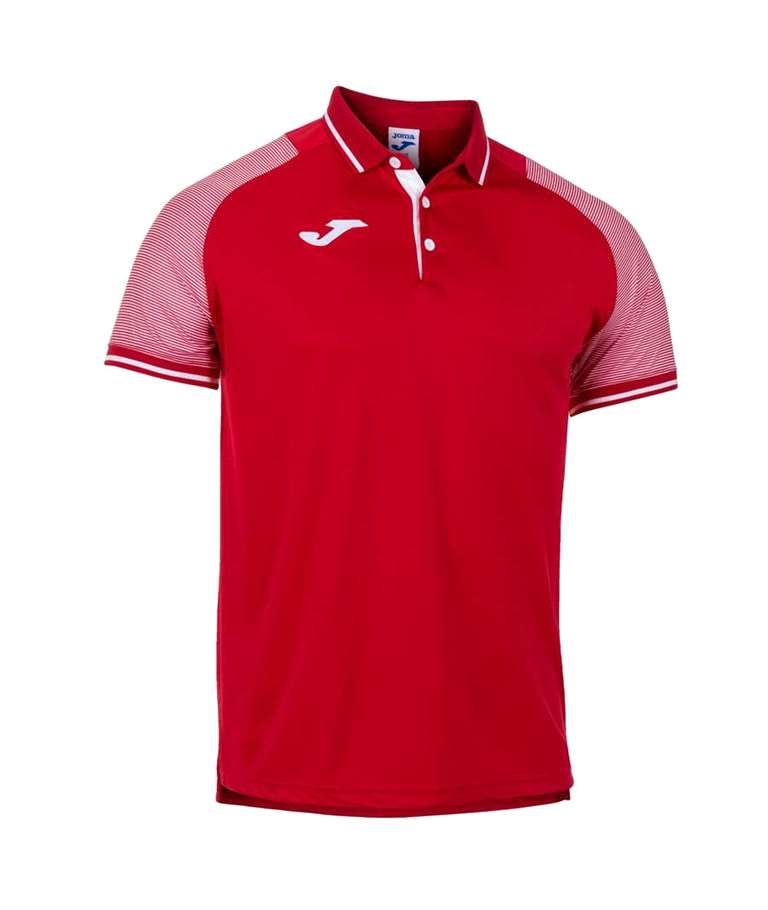 JOMA POLO ESSENTIAL II RED / WHITE