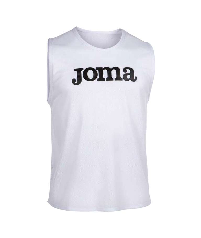 JOMA PETOS TRAINING BIBS (PACK 10 UNITATS) WHITE