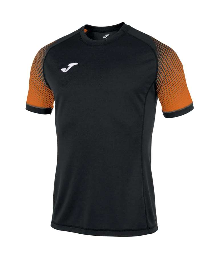 JOMA CAMISETA HISPA  BLACK / ORANGE