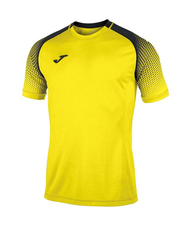 JOMA CAMISETA HISPA  YELLOW / BLACK