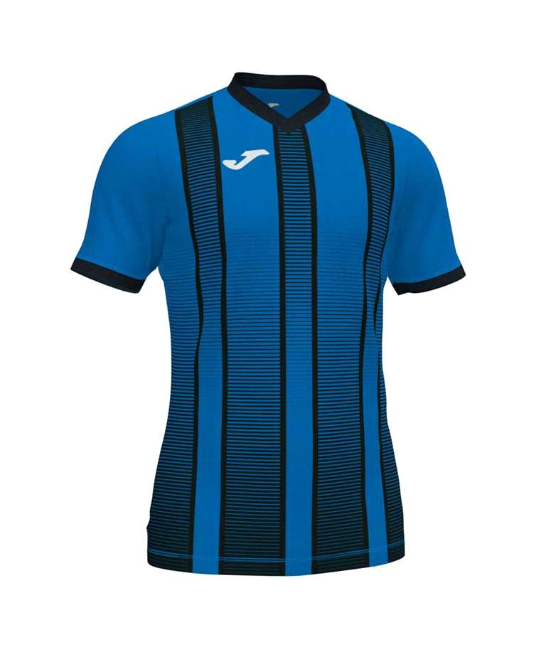 JOMA CAMISETA TIGER II M/C ROYAL-NEGRO