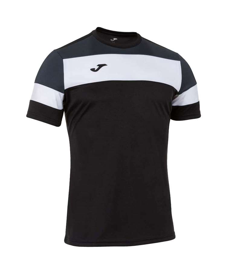 JOMA CAMISETA CREW IV COTTO NEGRO-ANTRACITA