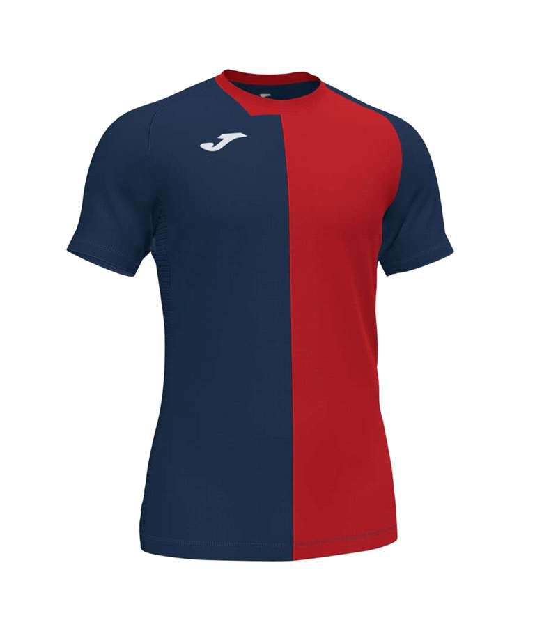 JOMA CAMISETA CITY M/C DARK NAVY /RED