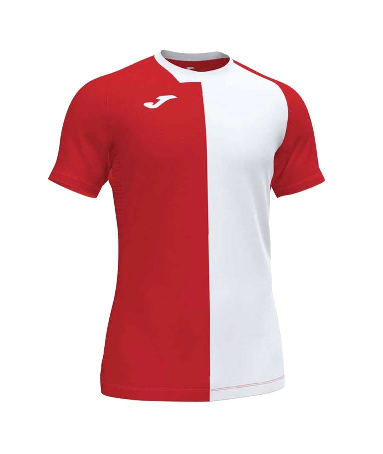 JOMA CAMISETA CITY M/C ROJO-BLANCO