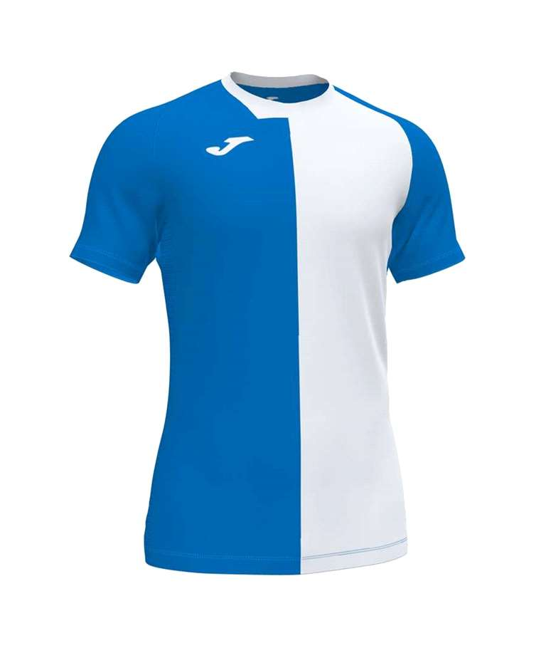 JOMA CAMISETA CITY M/C ROYAL-BLANCO