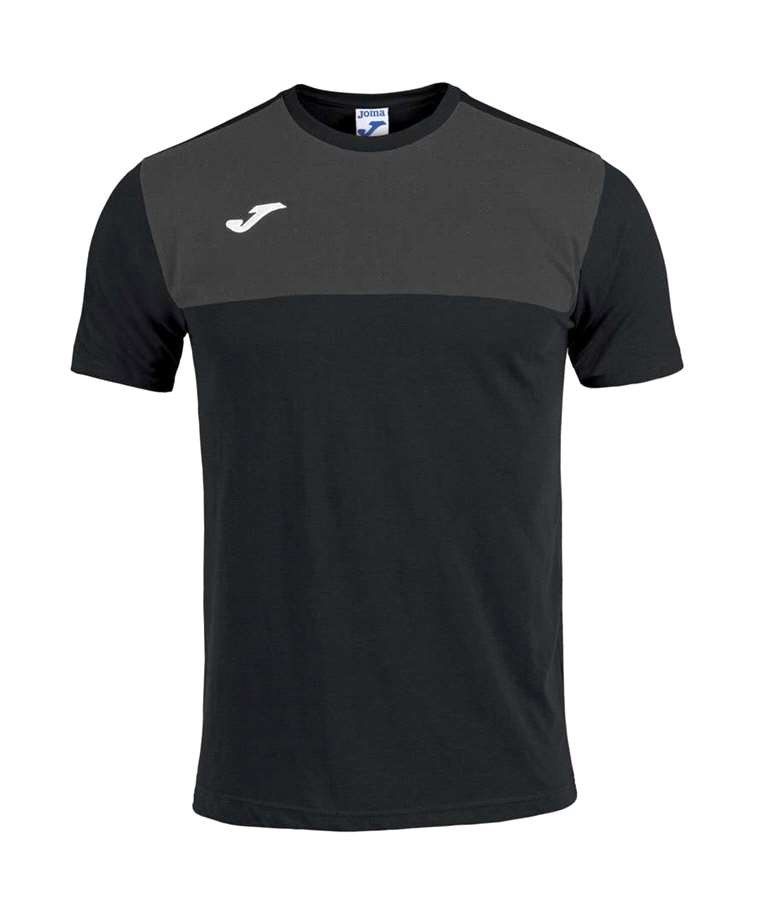 CAMISETA M/C WINNER NEGRO-ANTRACITA