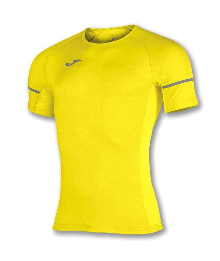 JOMA CAMISETA RACE REFLECTANT M/C AMARILLO