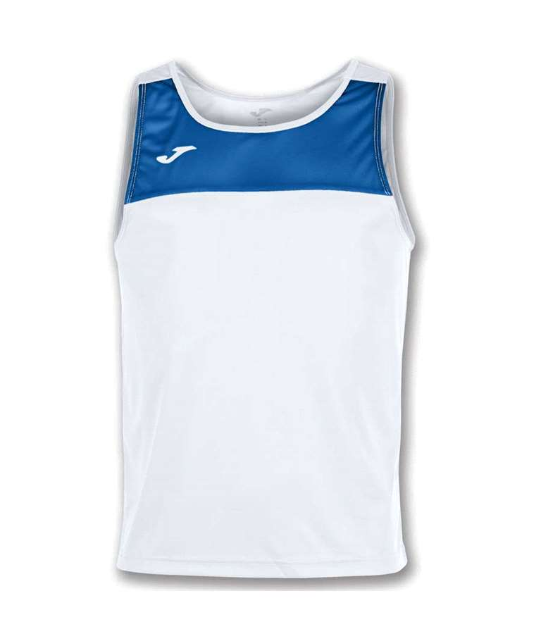 JOMA CAMISETA RACE S/M BLANCO-ROYAL