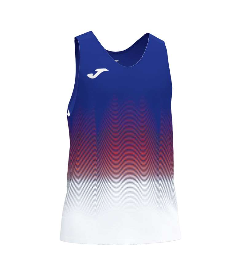 JOMA CAMISETA ELITE VII S/M ROYAL-BLANCO-ROJO
