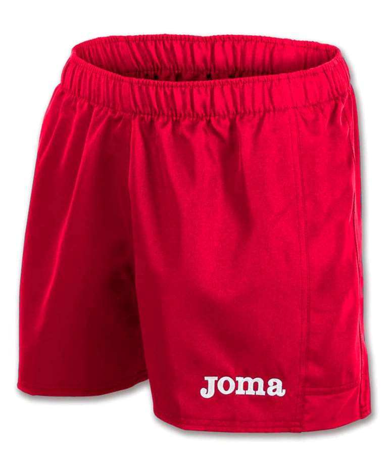 JOMA SHORT RUGBY MYSKIN RED