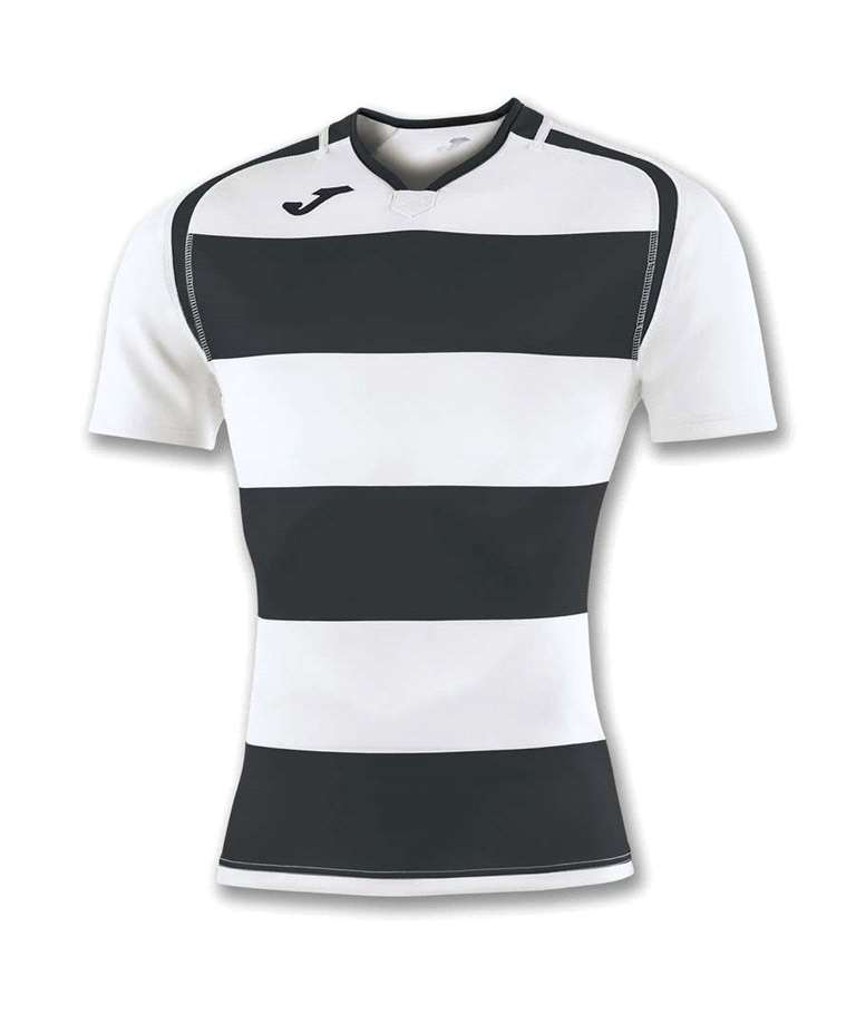 JOMA CAMISETA RUGBY PRORUGBY BLACK - WHITE