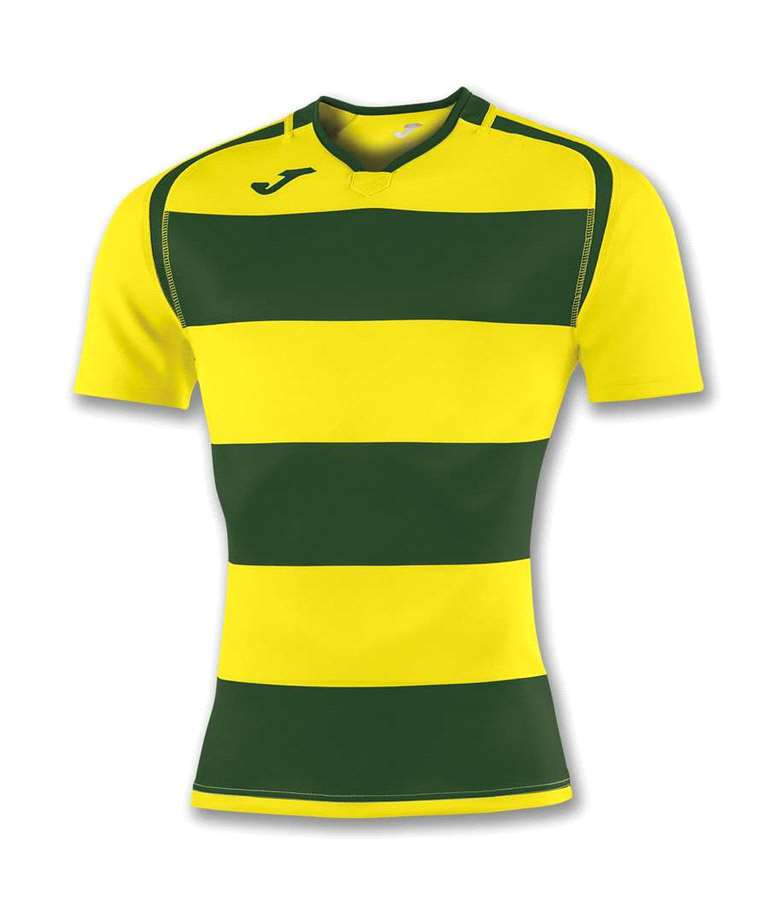 JOMA CAMISETA RUGBY PRORUGBY YELLOW/GREEN