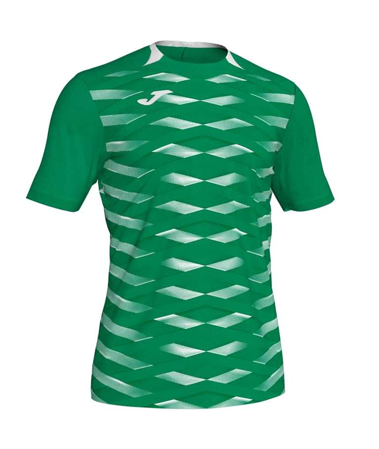 JOMA CAMISETA RUGBY M/C MYSKING II GREEN MEDIUM WHITE